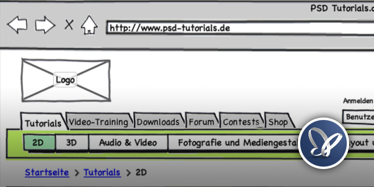 Projektbericht PSD-Tutorials