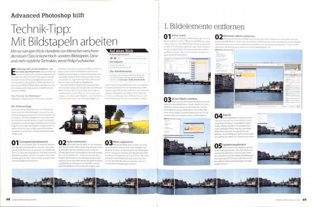 Auszug Advanced Photoshop 07/2011