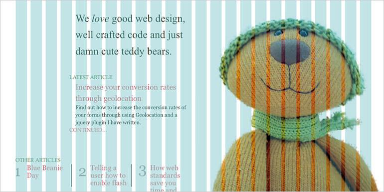 Raster im Webdesign