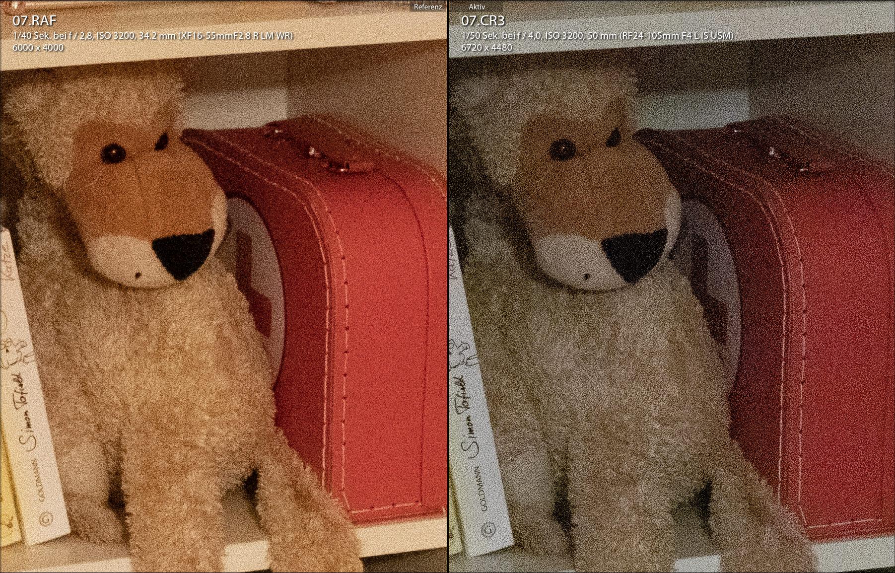 Teddybär in Regal